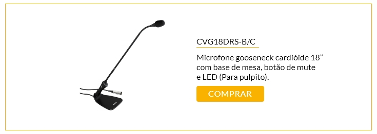 Microfone CVG18