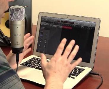 Microfone USB